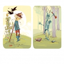 Scarecrow and Tin Woodsman