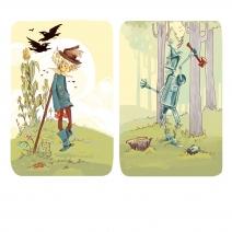 Scarecrow and Tin Woodsman